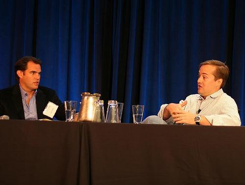 Matt Coffin (Founder of LowerMyBills) interviews Jason Calacanis (CEO of Mahalo).