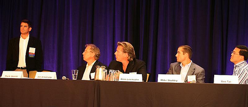 Mark Skaist hosts the afternoon panel of investor judges.